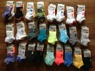 UNDER ARMOUR Womens HeatGear No Show Training Socks 6 pack Mult Colors MED