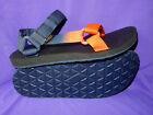 TEVA Mens 9 Original Universal Gradient Sport Sandals Walking Shoes NAVY New