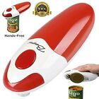 Electric Can Opener Hands Free Automatic Fast Sharp Rotating Lid Cutter Portable