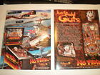 1 ORIGINAL WILLIAMS NO FEAR PINBALL MACHINE BROCHURE  FLYER