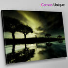 SC051 River Bank Scenery Scenic Wall Art Picture Large Canvas Print