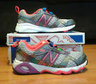 New Balance Girls Running Shoes Size 12 New With Box Style KV695RBY