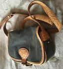 tommy hilfiger vintage shoulder bag genuine thick leather