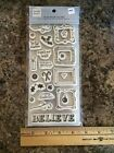 4092 Heidi Grace Cling Stamps Set of 23 NEW Christmas Believe