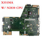 For Asus X551MA D550MA W N2830 CPU Motherboard 60NB0480 MB2200 Mainboard USA