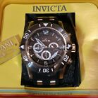 NWT Invicta Mens Pro Diver 50mm Stainless Steel Black Dial VD53 Quartz Watch