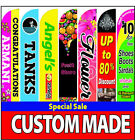 15Ft Full color Custom Swooper Advertising Flag Feather Banner without hardware