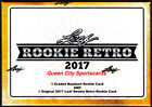 2017 Leaf Rookie Retro Trading Cards Factory Sealed Hobby Box