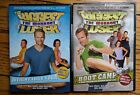 The Biggest Loser The Workout Boot Camp  Weight Loss Yoga DVDs lot 2