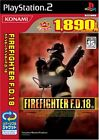 Used PS2 Fire Fighter F.D.18 (Konami Hall Of Fame Selection)