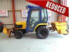 Kubota B2400 2006 4WD Compact Tractor c w snow blade and spreader