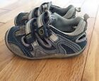 Stride Rite Infant Sneakers Size 6M Brown Blue Gray Cute