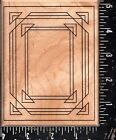 Mostly Animals Wood Mounted Rubber Stamp Frame Up Rectangle