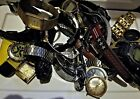 Lot of vintage mens watches for parts or repair!
