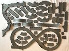 Huge Lot ThomasFriends Take n Play Tracks for Diecast Trains 50pc