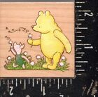 All Night Media Wood Mounted Stamp Classic Winnie the Pooh Wishes
