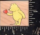 All Night Media Wood Mounted Stamp Classic Winnie the Pooh Poohs Heart