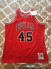Michael Jordan Mitchell And Ness Authentic Jersey NEW Chicago Bulls 2XL 52