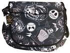 Disney Nightmare Before Christmas Jack Skellington Messenger Bag Black
