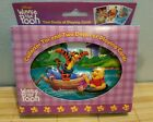 DISNEY Winnie the Pooh 3D Collector Tin with 2 Decks of Playing Cards NEW