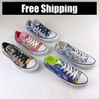 Womens CONVERSE ALL STAR Chuck Taylor Digital Floral Print OX Low Top Sneaker