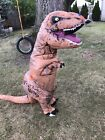 Inflatable T Rex Child Costume Jurassic World Fits 5 7 Years Blowup Dinosaur
