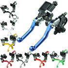 For 50cc to 550cc 7 8Master Cylinder Reservoir Brake Cable Clutch Levers