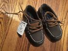 NWT Tommy Hilfiger boys boat shoes loafers size 8 toddler