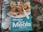 Weight Watchers Master Your Meals and Snacks Recipes Book