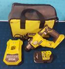 ✰✰RYOBI ONE+ Hammer drill 18V Battery / charger / case Free p&p Free warranty✰✰