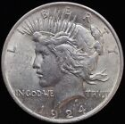 1924 1 Peace Dollar 90 Silver Coin B235