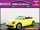 2015 Volkswagen Beetle New 18T Convertible FWD Off Lease Only 2015 Volkswagen Beetle 18T Convertible FWD Intercooled Turbo Reg