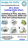 A5 x 3mm Die Cutting Plate Pair for Big Shot Express by Scrappy Cat  SPA53P 3