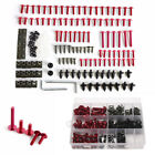 223Pcs Motorcycle Mixed Bolts Rivets Nuts Fairing Bolt Windscreen Fasteners Kit