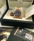 Rolex Submariner with Ceramic Bezel 18K Gold