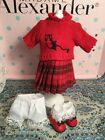 Madame Alexander 8  Doll  - Cute Outfit -  Tagged  First Day of School