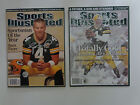 (2) Brett Favre Green Bay Packers Signed Autographed Sports Illustrated with COA