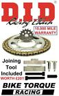 Voxan 1000 Black Magic 05-08 DID Upgrade Chain And Sprocket Kit + Tool