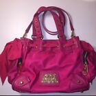 Bright pink authentic Juicy Couture handbag