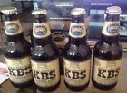 2017 Founders Kentucky Breakfast Stout KBS RARE 12 EMPTY BOTTLES WITH CLEAN CAPS