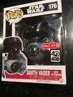Funko POP Star Wars 40th Darth Vader Tie Fighter Target Exclusive Dented Box New