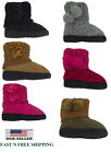 New Infant Toddler Baby Girls Faux Suede Flat Winter Fur Boots Shoes Size 5 10