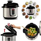 Programmable Pressure Cooker 12n1 Electric Multi Functional Non Stick 6 Quart