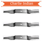 3 Pack 44 Mower Blades Fits Cub Cadet 742 3002 759 3812 6081 Free Shipping