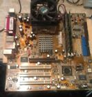 COMBO ASUS A7V8X LA MOTHERBOARD W AMD Athlon 3200 + 22GHz CPU and 2GB MEMORY