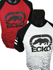 Mens ECKO UNLTD Brand T Shirt Thick Print LINEAR MARBLE in White or Red