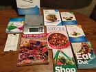 Weight Watchers Points Plus Complete Food Dining Companion Scale Cookbook Lot