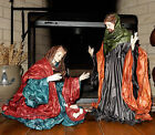 Vintage Large Size Christmas Holy Family Nativity Dept 56 Rare Display