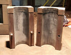 STEAMPUNK INDUSTRIAL FOUNDRY WOOD MOLD PATTERN  ALUMINUM CASTING MACHINE AGE ART