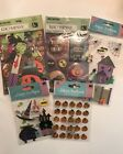 Large K And Company Jolees Scrapbook Halloween Lot of 5 Stickers Die cut